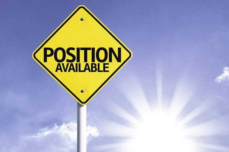 position available sign